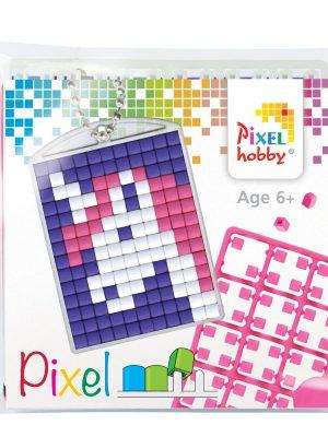 Pixelsleutelhanger Unicorn