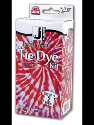 Tie-Dye set rood