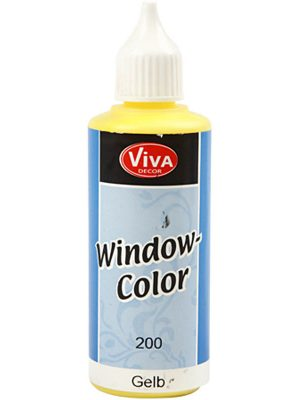 Window Color Geel