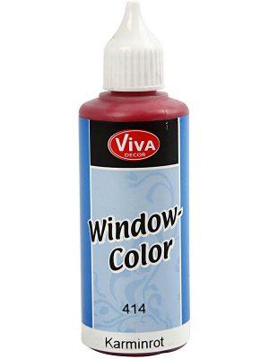 Window Color Karmijnrood