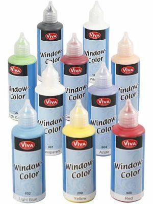 Window Color pakket 10 x 80 ml