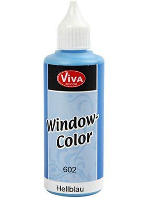 Window Colour Blauw