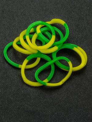 Loombandje groen/geel