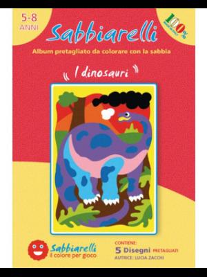 Zandschilderen Dino