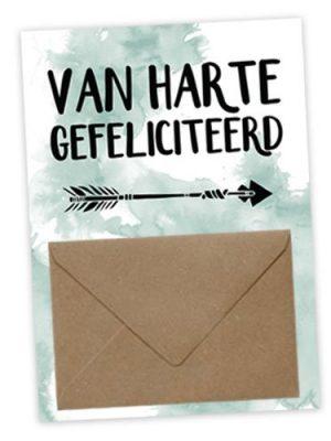 Geldkaart Van Harte