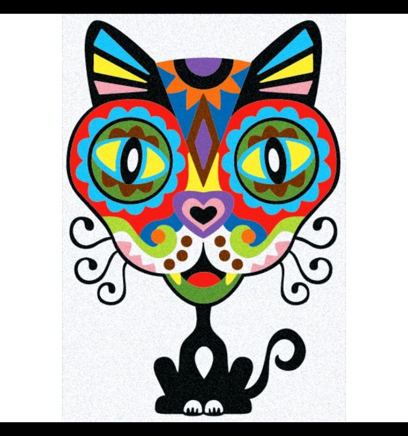 Zandschilderen Mexico